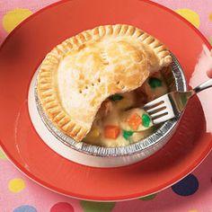 Chicken NOT pie from FamilyFun magazine.