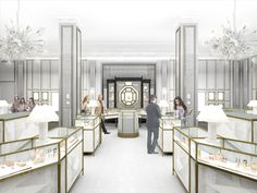 Bergdorf Goodman's Redesigned Jewelry Salon Opens Soon - Daily Front Row - http://fashionweekdaily.com/bergdorf-goodmans-redesigned-jewelry-salon-opens-soon/