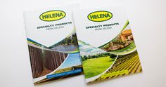 Helena Chemical Company is one of the nation's leading distributors of crop protection and crop production inputs and services for the agricultural, forestry, turf & ornamental, aquatics and vegetation management markets. Kelley & Associates provides all layout, design, and editing for their Specialty catalogs.