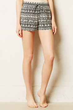 #silk sleep #shorts #loungwear || #anthrofave