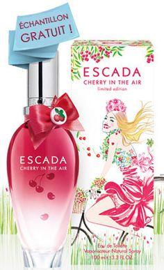Cherry in the Air Perfume by Escada oz Eau De Toilette Spray for Women NIB Fragrance Samples, Perfume Samples, Perfume Fahrenheit, Perfume Invictus, Perfume Reviews, New Fragrances, Parfum Spray, Body Spray, Smell Good
