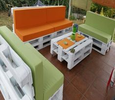 recycled pallet outdoor Sofa Furniture