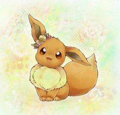 Cute fluffy Eevee. :)