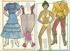 Bianca Jagger The Rolling Stones 70s Swedish Paper Doll | eBay