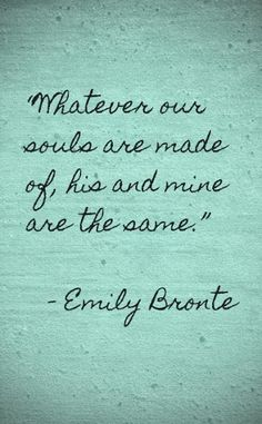 The font is great. I really am a cursive girl (or particularly flowy script). Also big s/o to the Bronte sisters.