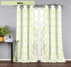 Newburgh curtain panels by Duck River Textile