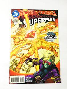 Superman Comic Book. DC Comics. #119. Sunburned; Cover by Josef Rubinstein.