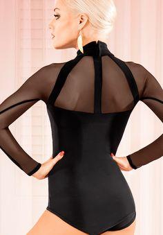 Chrisanne Tania Neptune Leotard | Dancesport Fashion @ DanceShopper.com