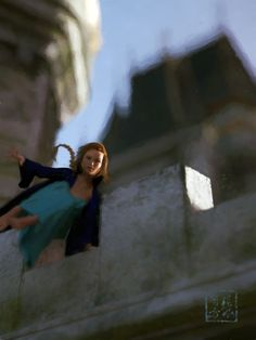 """Early Morning Break"" - parkour princess escapes"