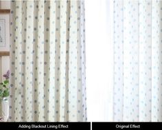 Physical Blackout Curtain Line Thickening Fabric Blackout curtain liner used three layers of thickening coly/cotton blend material which could blackout sunlight. Solid curtain has print craft which could decorate your room. Polka Dot Curtains, White Sheer Curtains, Luxury Curtains, Elegant Curtains, Shabby Chic Curtains, Yellow Curtains, Vintage Curtains, Floral Curtains, Country Curtains