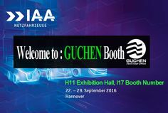 On 22-29.Sep.2016,Guchen will be at 66th IAA Commercial Vehicles.We will exhibit multi-temp van refrigeration units and all-electric bus air conditioners for trolleybus.
