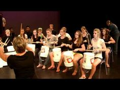 Gordon Bucket Drummers  ( oh yeah... my hallway neighbours would dislike even more than when I use my class set of WORLD drums all day !!! )  But I LOVE it!!!
