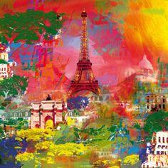 Paris Print by Robert Holzach at Art.com