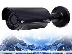 KNC-Ni720HD, KT&C, 3.27 MegaPixel Varifocal Lens IP Bullet Security Camera