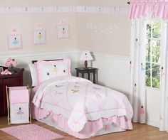 Pretty Ballerina Bedding Ideas