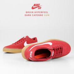 on sale 46cc0 8e882 Nike SB Bruin Hyperfeel  Cayenne Gum