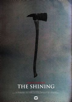 Hitchcock and Kubrick movie posters reimagined SHINING –