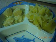 Creamy cheddar chicken and noodles