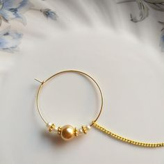 Pearl Nose Ring Indian Nath Wedding Jewellery Gold Plated Bridal Nostril Rong Piercing Decorated Hoop Fashion Jewellery Nose Ring with Chain by CreativeGemsJewelery on Etsy Nose Ring Jewelry, Gold Rings Jewelry, Tikka Jewelry, Indian Jewelry, Gold Wedding Jewelry, Bridal Jewelry Sets, Bridal Nose Ring, Bridal Rings, Fashion Jewellery