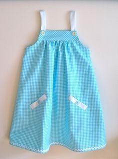 Nice Baby Dress (Blue) by ongsinyee