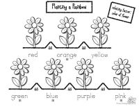 FREEBIES on this site for literacy and Planting a Rainbow.