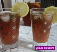 Buzlu Çay (Ice Tea) nasıl yapılır, resimli Buzlu Çay (Ice Tea) yapımı yapılışı, Buzlu Çay (Ice Tea) tarifi