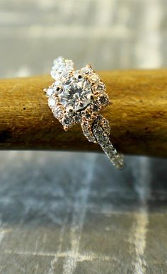 This engagement ring is all sweetness and light.