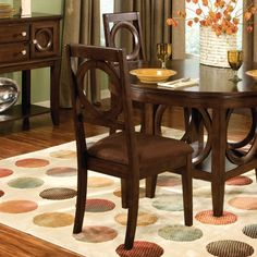 Standard Furniture Coterno Dining Side Chairs - Set of 2 - Dining Chairs at Hayneedle  $214