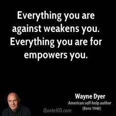 Wayne Dyer - makes sense