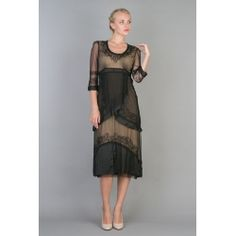 Downton Abby 1920's Inspired Dress.Stunning new colors available for all of your holiday events. Vintage inspired fashions for the modern woman of sophistication.You will fine many more fashions just for your vintage soul at BlanchesPlace.com
