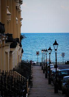Down to the Sea, Brighton England..