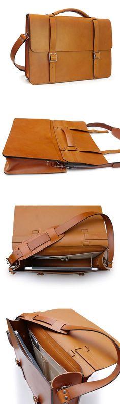 Handmade Essential Messenger Bag in English Tan 11b74a77aa838