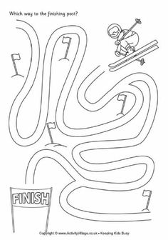 Winter Olympics Coloring Page Luxury 20 Olympic Crafts and Recipes Your Kids Wil. - Winter Olympics Coloring Page Luxury 20 Olympic Crafts and Recipes Your Kids Will Love Winter Olymp - Winter Games, Winter Activities, Fun Activities, Preschool Crafts, Crafts For Kids, Preschool Games, Theme Sport, Olympic Idea, Olympic Games