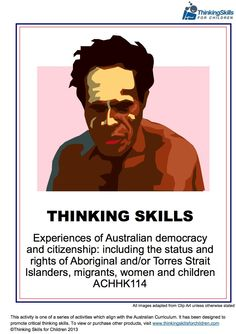 Use critical and creative thinking activities to teach Australian Citizenship and Democracy to your class. One of a series of booklets, which also includes the rights of migrants, children and women. Citizenship Education, Global Citizenship, Teaching Activities, Teaching Resources, Primary Resources, Thinking Skills, Critical Thinking, Teaching Government, Primary Classroom