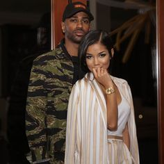 Dope Couples, Black Love Couples, Cute Couples Goals, Couple Goals, Relationship Goals Pictures, Couple Relationship, Cute Relationships, Jhene Aiko, Big Sean And Jhene
