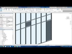 Revit Tips - Easy Louver Window Making - YouTube