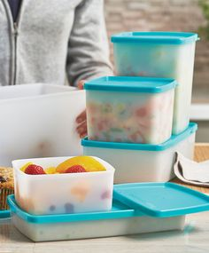 Freeze-It™ Containers. Lock in fresh flavor with versatile containers for fridge or freezer. Designed for fast freezing to retain food's color, texture, nutrients and taste.