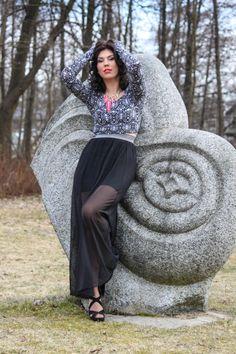 Model: Karīna  Foto:Laura Strautiņa