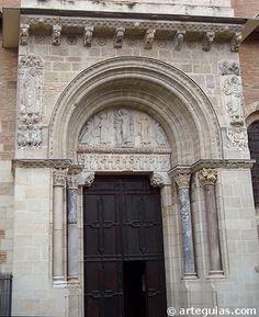 DENTRO DEL CAMINO DE SANTIAGO   Porte Miegeville   Saint Sernín de Toulouse