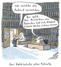 Höhere Gewalt: Das taktischste aller Patente