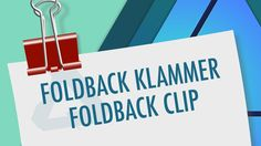 20 Affinity Designer – Foldback clip This tutorial will show you how to create a foldback clip in Affinity Designer 1.5.5. Basic shapes (rectangle, ellipse, trapezoid), the Node Tool and the Fill Tool for the gradients will be used. The use of global colors in the gradients allows easy change of colors of the clip.