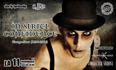 In Strict Confidence (GER) - Vintage Show (1996-2004) + Special guests - GLORIA, Helsinki - 11.2.2017 - Tiketti