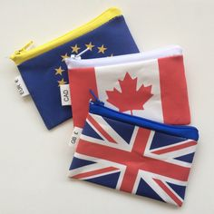 Do you travel a lot? Use these cute coin purses to keep your foreign currencies in order...
