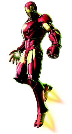 Iron Man Marvel vs. Capcom 3: Fate of Two Worlds