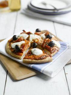 Pizza base - Glutafin gluten free recipes
