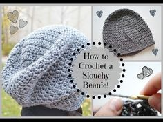 ▶ How to Crochet a Cute Slouchy Beanie! | Ms. Craft Nerd - YouTube