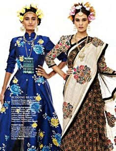 Payal Pratap SIngh & Vineet Bahl. Wardrobe fashion indian couture wedding bridal inspiration ideas| Stories by Joseph Radhik