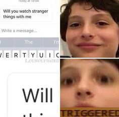 Stranger-Things-Memes in 2019 laughter is the best medicine Watch Stranger Things, Stranger Things Have Happened, Stranger Things Aesthetic, Demogorgon Stranger Things, Saints Memes, Stranger Danger, Movies And Series, Best Shows Ever, Laughter