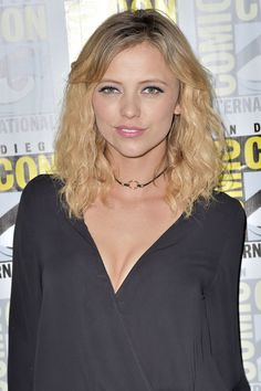 Riley Voelkel at The Originals Press Line at Comic-Con International 2016 in San Diego