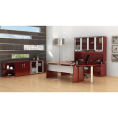 Mayline Napoli Office Furniture Suite